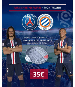 BILLETTERIE PSG: PARIS SAINT GERMAIN-MONTPELLIER