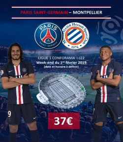 BILLETTERIE PSG: PARIS SAINT-GERMAIN-MONTPELLIER