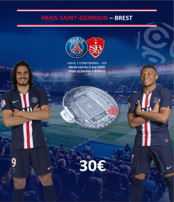BILLETTERIE PSG: PARIS SAINT-GERMAIN-BREST