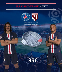 BILLETTERIE PSG: PARIS SAINT-GERMAIN-METZ